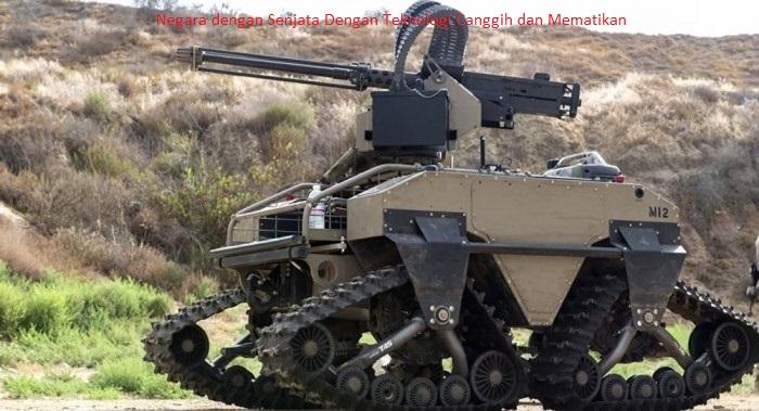 Negara dengan Senjata Dengan Teknologi Canggih dan Mematikan